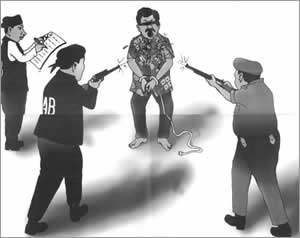 Bangladesh RAB and Police