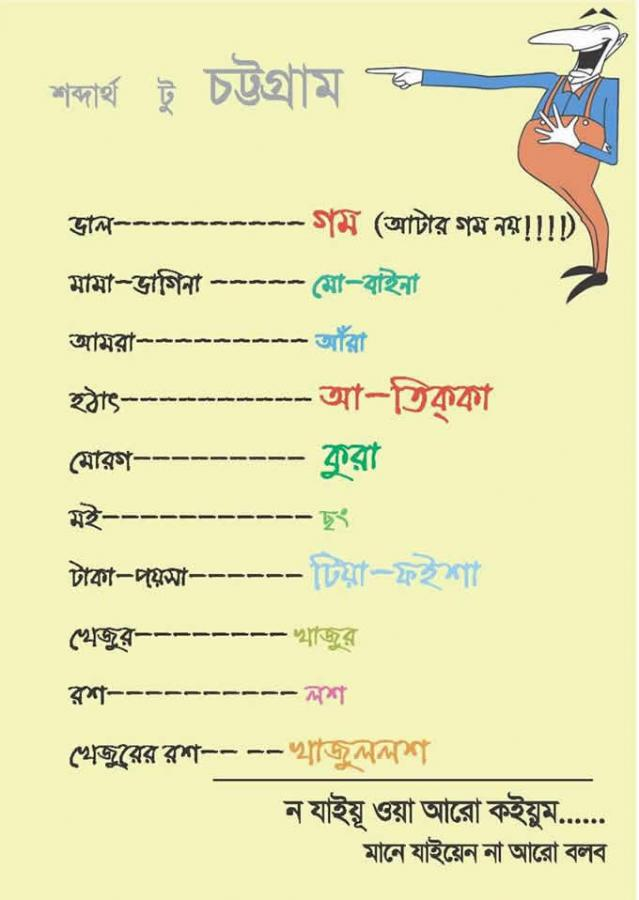 Chittagong Language